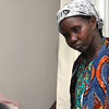 Vanisi Uzamukunda and her family are refugees from the Democratic Republic of Congo who recently settled in Lowell after living in a refugee camp for decades in Uganda. SUN/JOHN LOVE