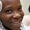 Dusenge Tuyishime, 14, is a refugee from the Democratic Republic of Congo who recently settled in Lowell after living in a refugee camp for decades in Uganda with their family. SUN/JOHN LOVE