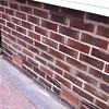Pointing Bay Window wall.