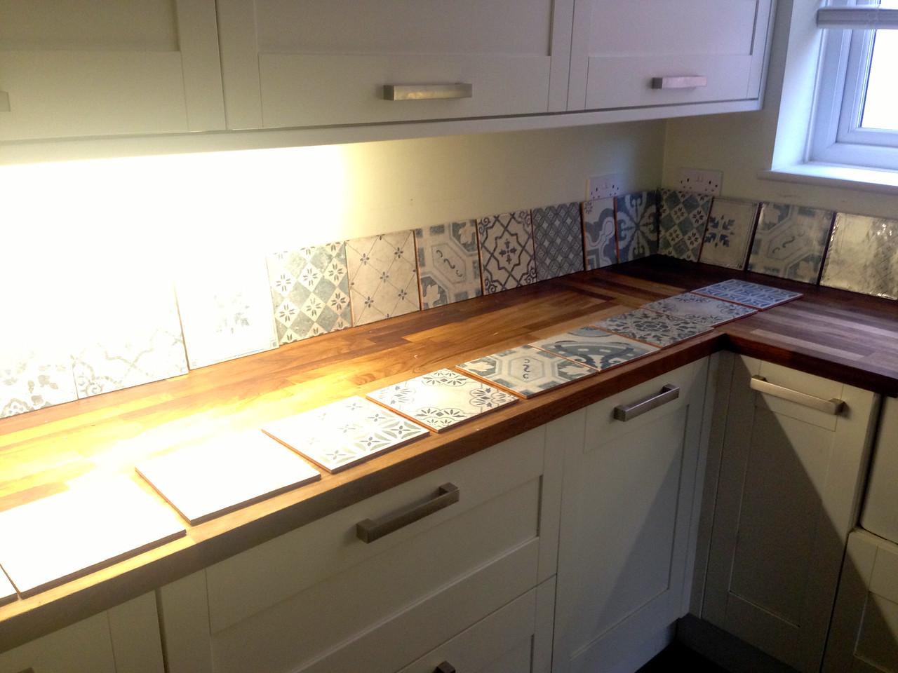 Tile installation by www.urmstonhandyman.co.uk