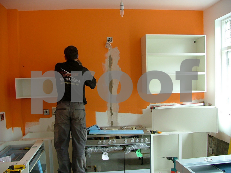 Installing the Wall units