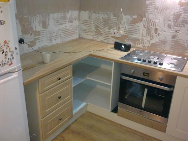 Montonfields Rd, Kitchen worktops.