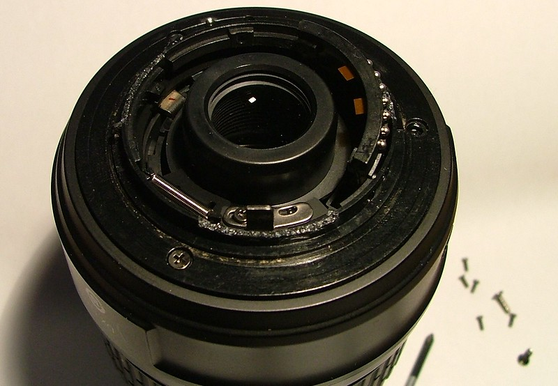 Nikkor 18-55mm DXII Bayonet ring replacement.
