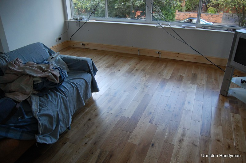 Oak Flooring and Skirting