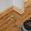 """New 7"""" Torous skirting is installed after the floor is finished. This allows for a 10mm expansion gap under the skirting where it will not be seen. The border is continued all round the room."""