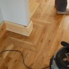 "Oak flooring installed by  <a href=""http://www.harrisonwoodwork.com"">http://www.harrisonwoodwork.com</a>"