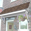 Porch Roof : A new Canopy Roof for the front door at 72 Merwell Road, Urmston. by www.urmstonhandyman.co.uk