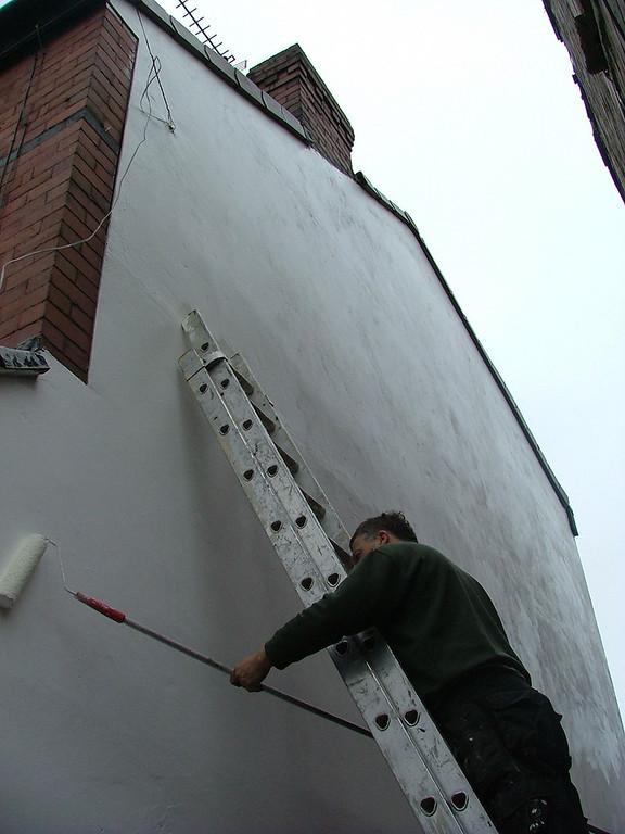 Skaife Road, Sale. House painting