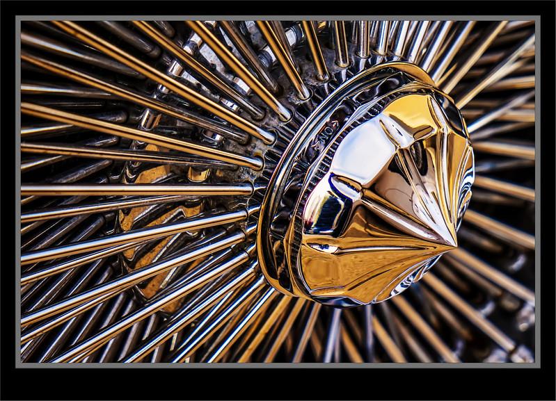 Car Show Golden Spokes