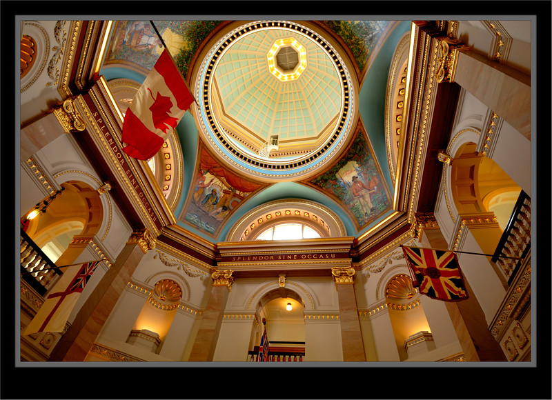 British Columbia Legislative Building Interior