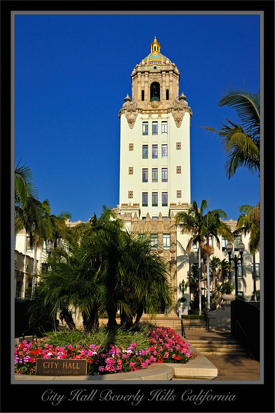 City Hall Beverly Hills California