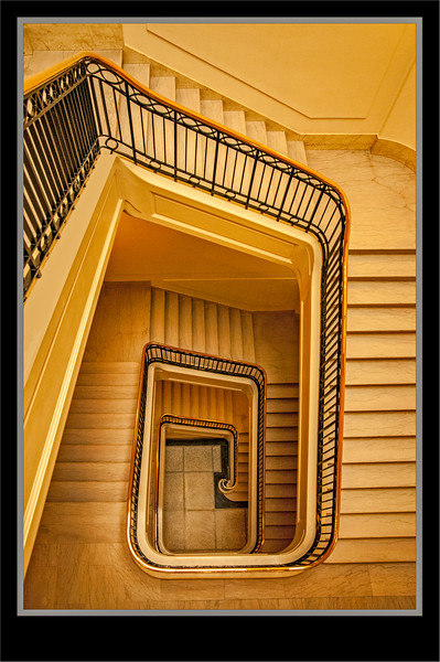 Manitoba Legislative Building Stairs