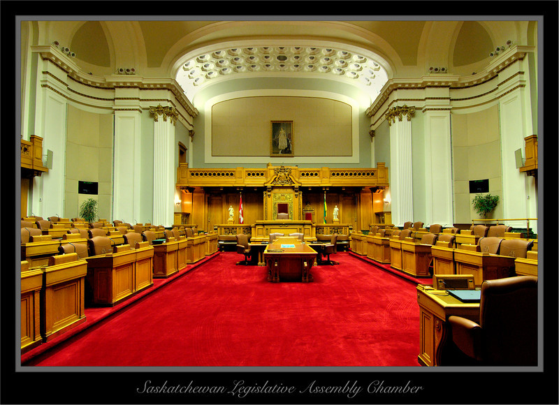 Interior Of The Saskatchewan Legislative Building