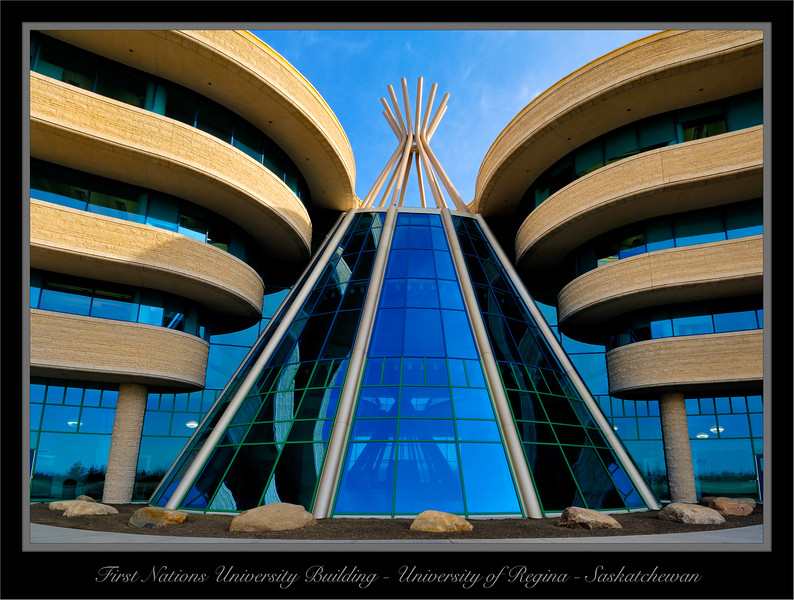 First Nations University Building Regina Saskatchewan