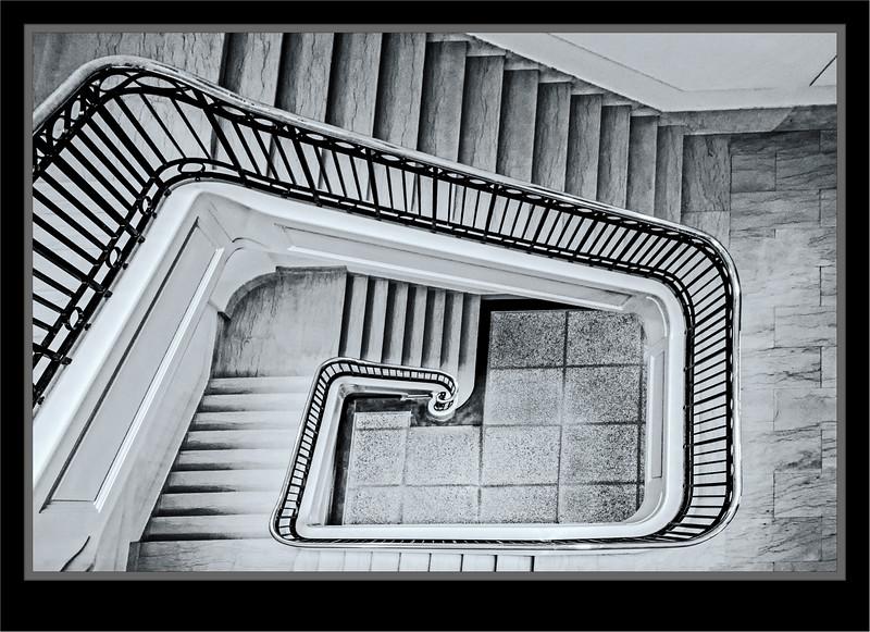 Stair Well - Manitoba Legislative Building