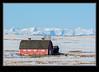 Alberta Foothills Barn Winter