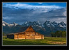 Wyoming Mormon Row Barn Grand Teton National Park