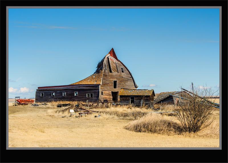 Saskatchewan Old Barn Near Twelve Mile Lake