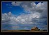 Alberta Big Sky And Barn
