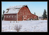 Alberta A Winter Barn