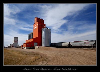 Grain Elevators Saskatchewan