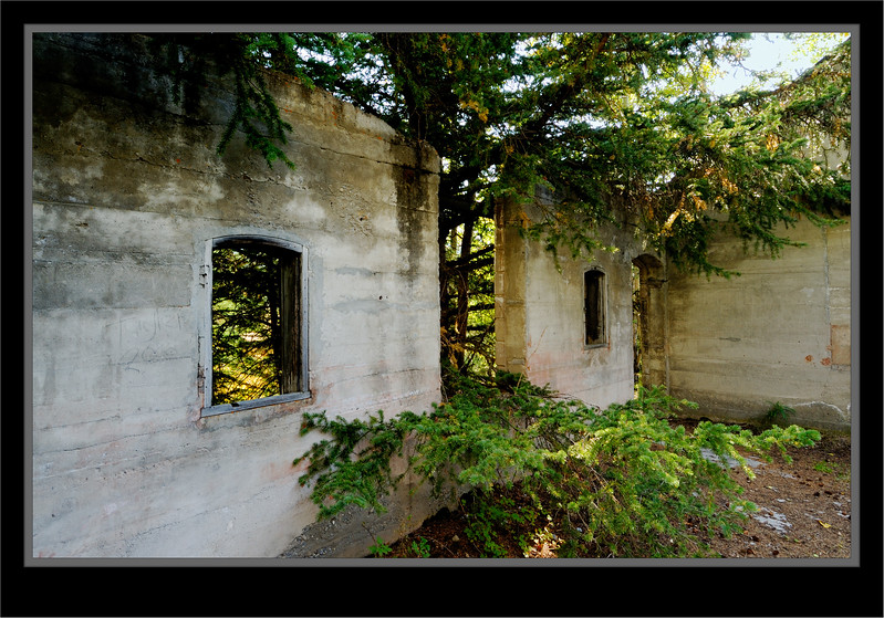 Lamp House Remains - Bankhead Ghost Town - Banff National Park