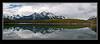 Herbert Lake Reflection - Banff National Park