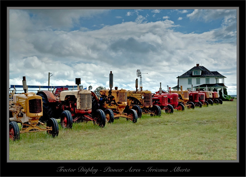 Model T's At Pioneer Acres - Irricana Alberta