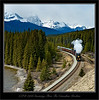 CPR 2816 Steaming Through The Canadian Rockies
