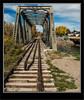 100 Year Old Train Bridge - Highriver AB