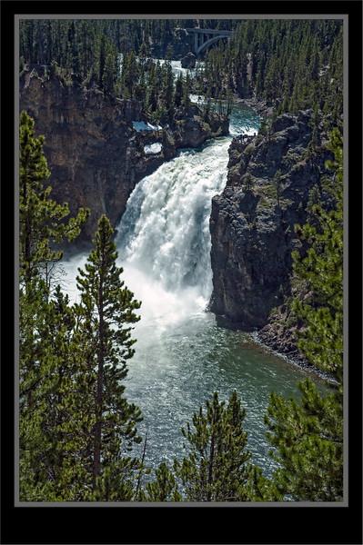 Upper Yellowstone Falls - Yellowstone National Park