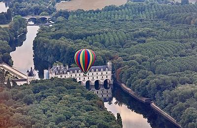 Survol en montgolfiere