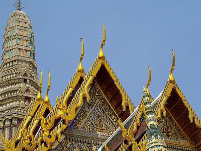 Temple à Bangkok (2) - Thaïlande 2007