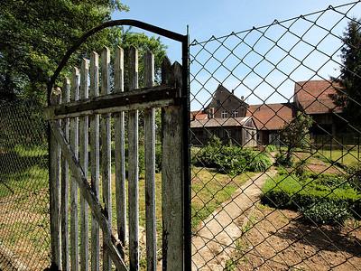 La porte du potager