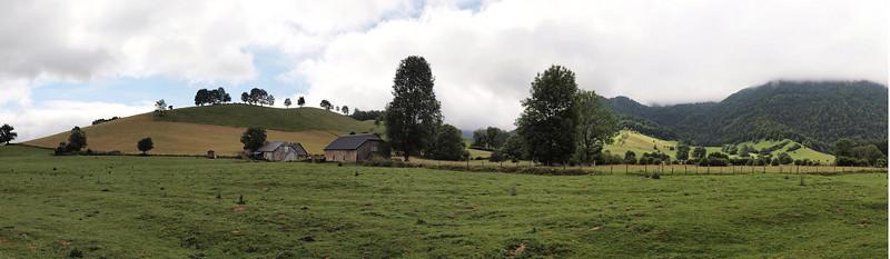 Le plateau du Benou, dans la vallée d'Ossau