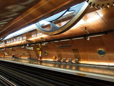 La station de métro Arts et Métiers