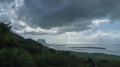 Le Morne, roc basaltique de 560 m