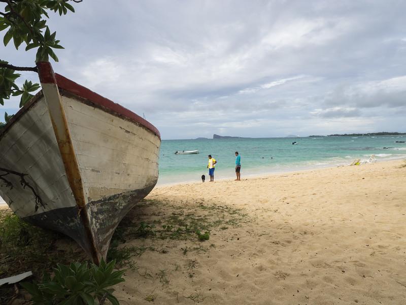 Une plage du nord de l'île