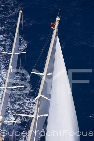 Crew up the mast