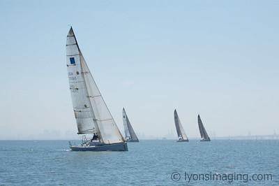 Berkeley YC Wheeler Regatta (big boats) 3/31/07