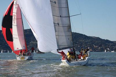 Sausalito Yacht Club Midwinter #3, 1/7/07