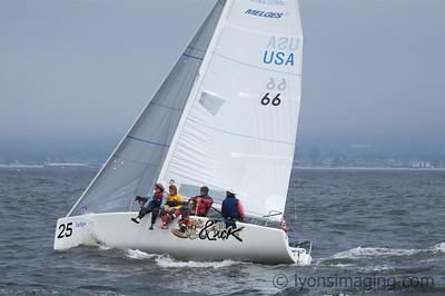 Melges 24 Worlds, races 3 & 4, 5/9/07