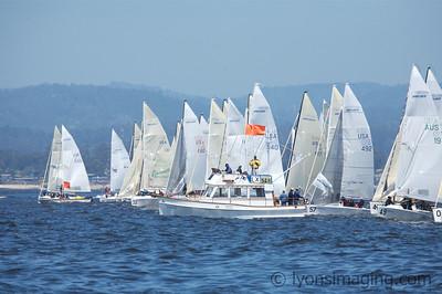 Melges 24 Worlds, races 5 & 6, 5/10/07