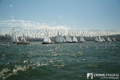 Folkboat Internationals, day 3, 9/21/07