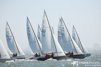 San Francisco Cup (Folkboats), day 1, 9/18/07