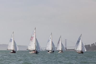 Folkboat SF Cup 2013 races 1&2