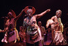 Mahlathini & the Mahotella Queens performing live on stage at the Warfield Theater in San Francisco on June 1, 1990.