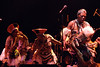 Mahlathini & the Mahotella Queens perform at the Warfield Theater in San Francisco on May 1, 1990.
