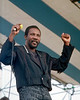 Toots Hibbert performs at the 1990 New Orleans Jazz & Heritage Festival on 4-27-90.