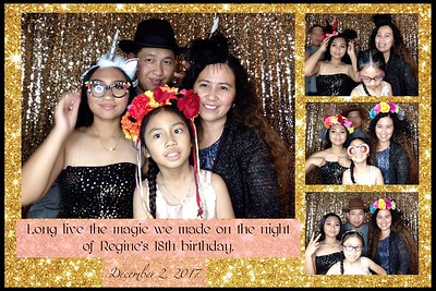 Regine's 18th Birthday